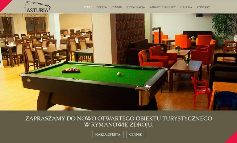 Villa Asturia – responsywna strona www