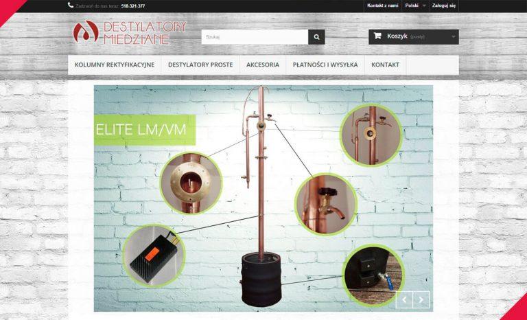 Destylatory miedziane – sklep internetowy (Lublin)