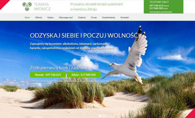 Terapia Iwonicz – responsywna strona www