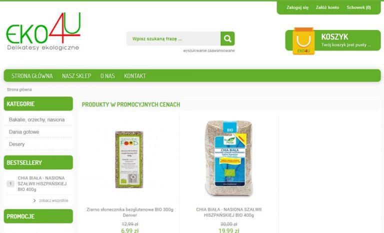 Kolejny sklep internetowy – Delikatesy ekologiczne Rzeszów