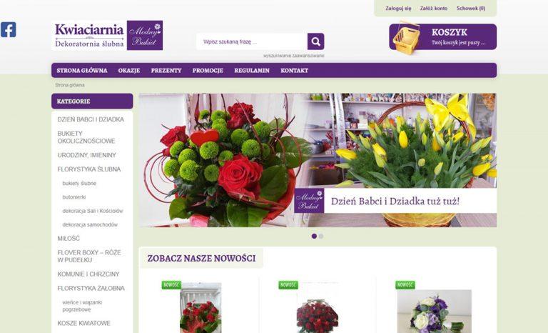 Kwiaciarnia internetowa – e-sklep (Krosno)
