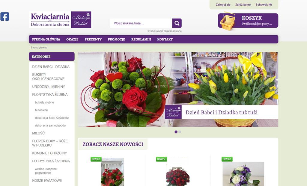 Kwiaciarnia internetowa Krosno – sklep internetowy