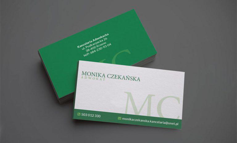Wizytówki dla kancelarii adwokackiej
