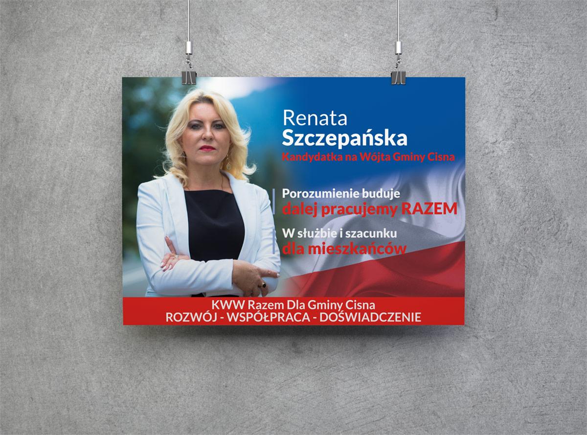 Wybory 2018 Projekt Plakatu Wyborczego Projekty Graficzne