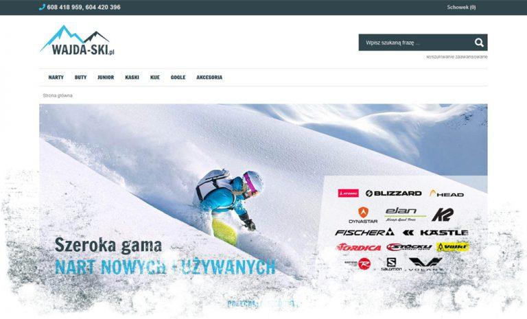 Rozpoczęcie projektu: sklep internetowy z nartami (e-Katalog)