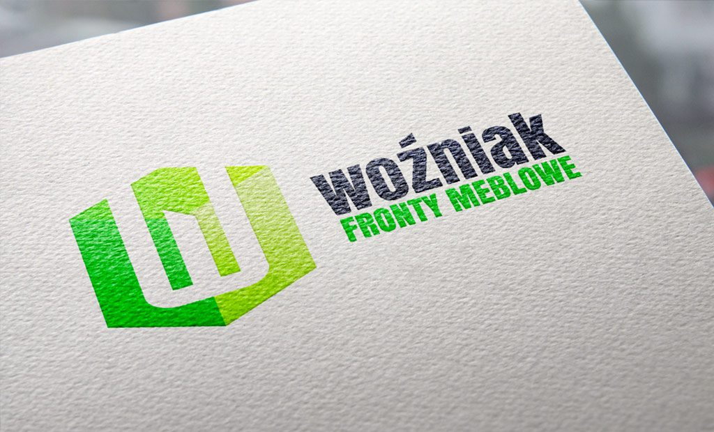 Projekt logo, rebranding firmy Woźniak