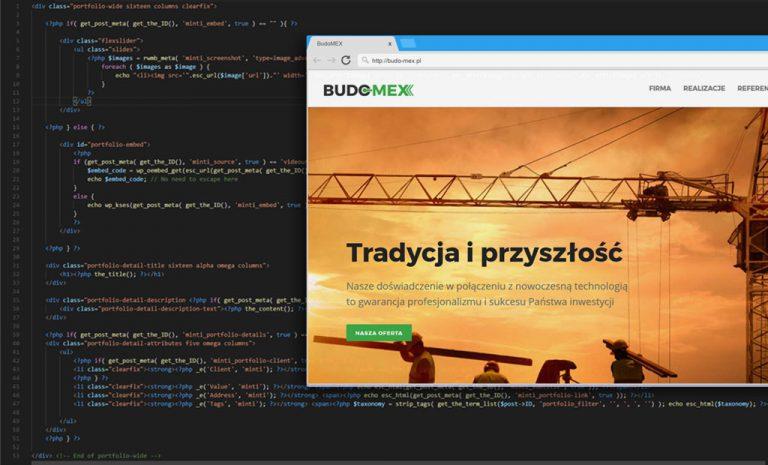 Rozpoczęcie projektu BudoMex – czyli nowa firmowa strona internetowa
