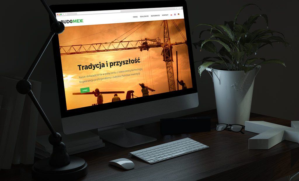 Strona www dla spółki budowlanej – Warszawa