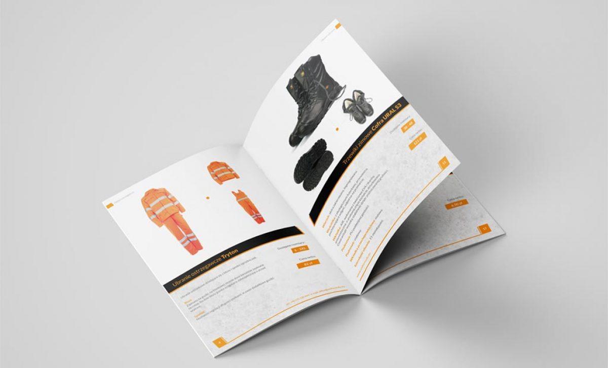 Katalog ofertowy z odzieżą roboczą- Rzeszów